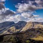 Sunday 21st September – Old Dungeon Ghyll to Bowfell and Scafell