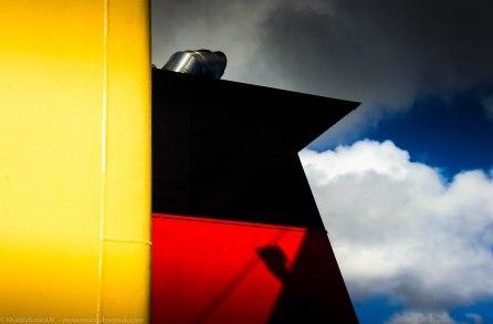 Abstract photo on MV Kennacraig