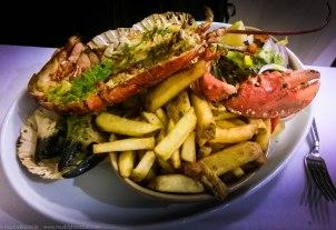 Yan's legendary Seafood Platter