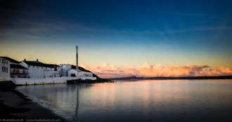 Sunrise at Bowmore on Loch Indaal