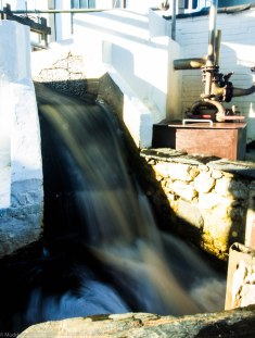 The water used in the Bowmore whisky