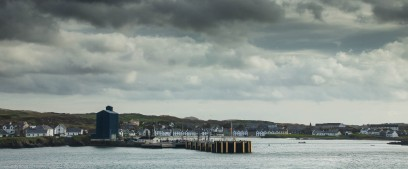 Leaving Port Ellen