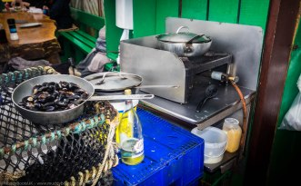 The mussel cooker