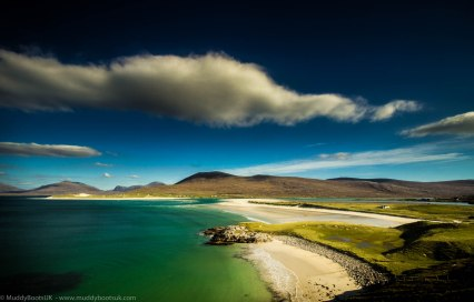 Luskentyre beach from above Seilebost