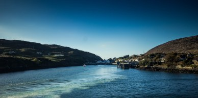 Leaving Tarbert