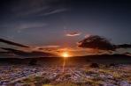 Sunset Behind Whernside