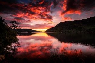 Sunrise Over Ullswater