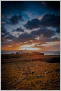 Sunset at Neist Point, Isle of Skye